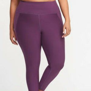 NWT $53 Old Navy 7/8 Ankle Compression Leggings